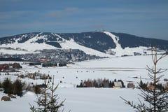 Krusne hory, Kinovec, republika czech zdjęcia royalty free