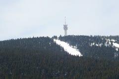 Krusne hory, Kinovec, republika czech Obrazy Royalty Free