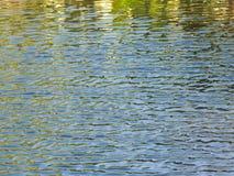 Krusningar i vattnet Royaltyfri Fotografi