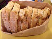 Krustiges Brot in Rom, Italien stockfotografie