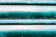 Kruszcowa żaluzja budynku architektury zieleń obrazy royalty free