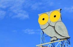Kruszcowa sowa Zdjęcie Stock