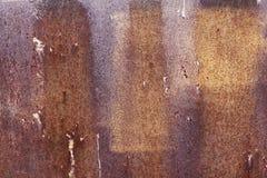 Kruszcowa stara ściana Garażu drzwi struktura Zdjęcie Stock