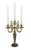 Kruszcowy candlestick Obrazy Royalty Free