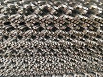 Kruszcowy grille Zdjęcie Stock