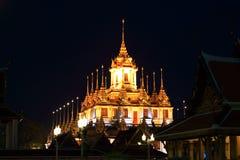 Kruszcowy kasztel w Tajlandia Obraz Stock