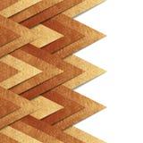 Kruszcowy starego złota papieru granicy tło Obraz Stock