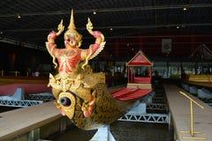 Krut Hern Het rusar in det kungliga pråmmuseet bangkok thailand Royaltyfria Bilder