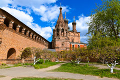 Krutitskoe Compound Cathedral in Moscow Russia Royalty Free Stock Images