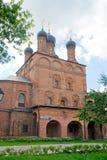 Krutitskoe podvorie. Church in Museum-Estate Krutitskoe podvorie. Moscow royalty free stock images