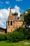 Krutitskoe podvorie. Church in Museum-Estate Krutitskoe podvorie. Moscow stock image