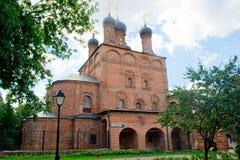 Krutitskoe podvorie. Church in Museum-Estate Krutitskoe podvorie. Moscow stock images