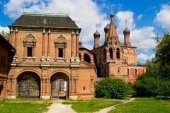 Krutitskoe podvorie. Church in Museum-Estate Krutitskoe podvorie. Moscow royalty free stock image