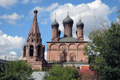 Krutitskoye podvorye (προαύλιο) στη Μόσχα Στοκ εικόνες με δικαίωμα ελεύθερης χρήσης