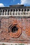 Krutitskoye podvorye (borggård) i Moskva Royaltyfri Bild