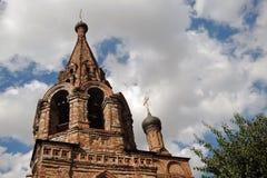 Krutitskoye podvorye (courtyard) in Moscow Royalty Free Stock Images