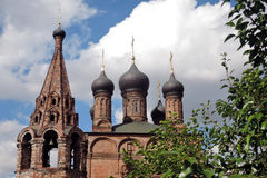 Krutitskoye podvorye (courtyard) in Moscow Royalty Free Stock Image