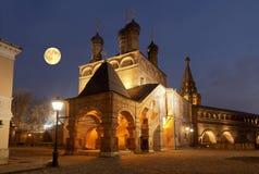 Krutitsy Metochion Русской православной церкви, установленное в конце тринадцатого века moscow Стоковая Фотография RF