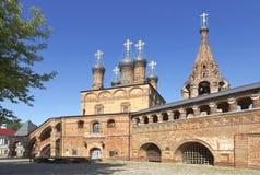 Krutitsy Metochion Русской православной церкви, установленное в конце тринадцатого века moscow Стоковое Изображение
