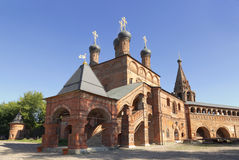 Krutitsy Metochion of Russian Orthodox Church Stock Photography
