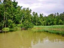 Krutynia-Fluss 9 Lizenzfreie Stockfotografie