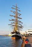 kruzenshtern statek Tallinn Obrazy Stock