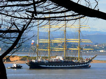 Kruzenshtern training ship Royalty Free Stock Photography