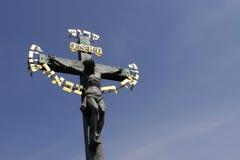 Kruzifix stockfoto