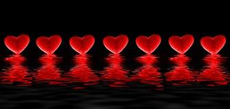 krwawiące serca ilustracji