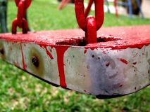 krwawiąca zamach Obrazy Stock