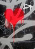 krwawiące serce Zdjęcie Stock