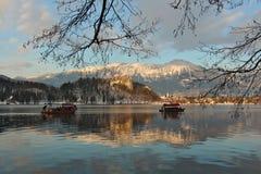 krwawienie jeziora Zdjęcia Royalty Free