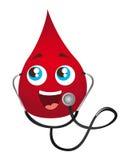 Krwi kropla Zdjęcia Stock