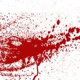 Krwi lub farby splatters bryzgają punkt plamy kleksa łaty tekstury kropli grunge czerwonego ciekłego abstrakta oceny brudnego wek Zdjęcie Royalty Free