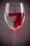 krwi woda Obrazy Royalty Free