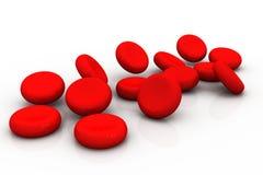 krwinki czerwone royalty ilustracja