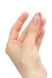 krwionośna cukrzyc palca ciał pacjenta rana zdjęcie royalty free
