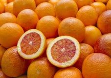 Krwionośna pomarańcze Zdjęcia Stock