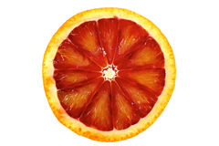 Krwionośna pomarańcze z plasterkami Zdjęcia Stock