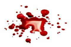 Krwionośne plamy zdjęcia royalty free