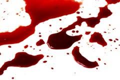 Krwionośne plamy (kałuża) zdjęcie stock