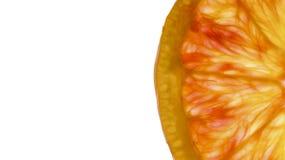 krwionośnej pomarańcze plasterek Obraz Stock
