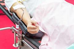 Krwionośni dawcy Robi darowiźnie obraz royalty free