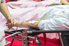 Krwionośni dawcy Robi darowiźnie obrazy royalty free