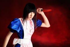 krwionośny nóż Zdjęcie Royalty Free