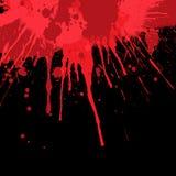 Krwionośny splatter tło Obraz Royalty Free