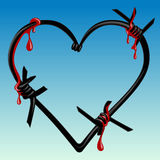 krwionośni kierowi kolce Obraz Royalty Free