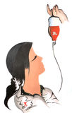 krwionośna darowizna Fotografia Royalty Free