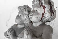 Krwista dziecko statua Zdjęcie Stock