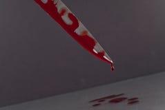 krwisty nóż Obrazy Royalty Free